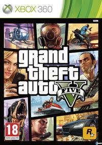 Portada oficial de Grand Theft Auto V para Xbox 360