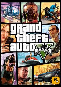 Portada oficial de Grand Theft Auto V para PC