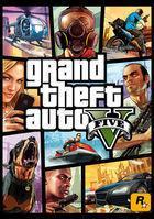 Portada oficial de de Grand Theft Auto V para PC