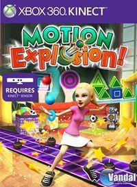 Portada oficial de Motion Explosion Kinect para Xbox 360