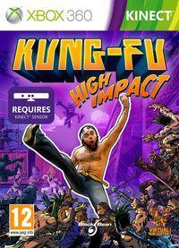Portada oficial de Kung-Fu High Impact para Xbox 360