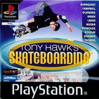 Portada oficial de Tony Hawk's Pro Skater para PS One