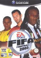 Portada oficial de de FIFA 2003 para GameCube