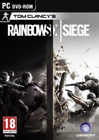 Portada oficial de Tom Clancy's Rainbow Six Siege para PC