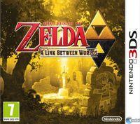 Portada oficial de The Legend of Zelda: A Link Between Worlds para Nintendo 3DS