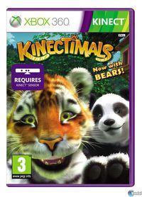 Portada oficial de Kinectimals: ¡Ahora con osos! para Xbox 360