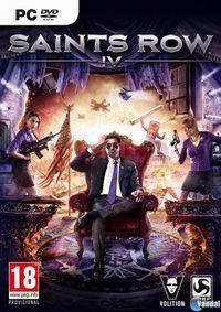 Portada oficial de Saints Row IV para PC