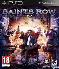 Portada oficial de Saints Row IV para PS3