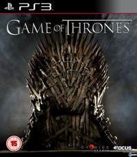 Portada oficial de Game of Thrones para PS3