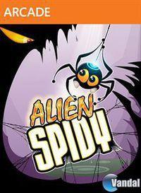 Portada oficial de Alien Spidy XBLA para Xbox 360