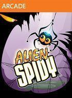 Portada oficial de de Alien Spidy XBLA para Xbox 360