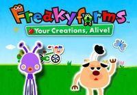 Portada oficial de Freakyforms: Your Creations, Alive! eShop para Nintendo 3DS