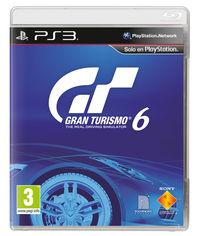 Portada oficial de Gran Turismo 6 para PS3