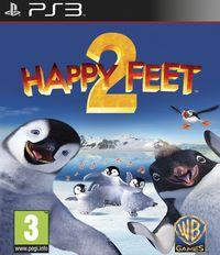 Portada oficial de Happy Feet 2 para PS3