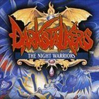 Portada oficial de Darkstalkers: The Night Warriors PSN para PSP