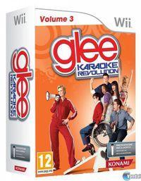 Portada oficial de Karaoke Revolution Glee: Volume 3 para Wii
