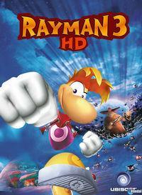 Portada oficial de Rayman 3 HD PSN para PS3