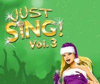 Portada oficial de Just SING! Christmas Vol. 3 DSiW para NDS