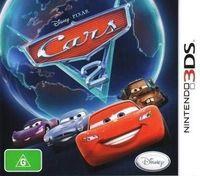 Portada oficial de Cars 2: El Videojuego para Nintendo 3DS