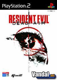 Portada oficial de Resident Evil Dead Aim para PS2