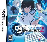 Portada oficial de Shin Megami Tensei: Devil Survivor 2 para NDS