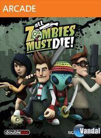 Portada oficial de All Zombies Must Die! XBLA para Xbox 360