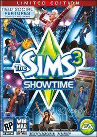 Portada oficial de Los Sims 3 Salto a la fama para PC