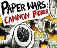Portada oficial de Paper Wars Cannon Fodder WiiW para Wii