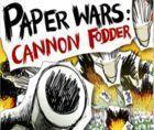 Portada oficial de de Paper Wars Cannon Fodder WiiW para Wii
