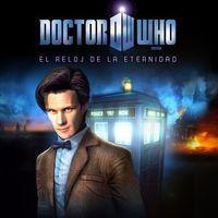 Portada oficial de Doctor Who: The Eternity Clock PSN para PSVITA