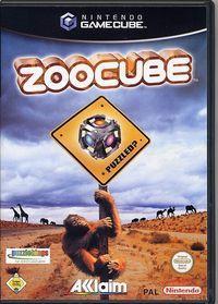 Portada oficial de Zoo Cube para GameCube