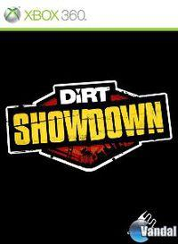 Portada oficial de DiRT Showdown para Xbox 360