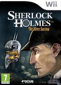 Portada oficial de Sherlock Holmes: El pendiente de plata para Wii