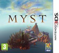 Portada oficial de Myst eShop para Nintendo 3DS