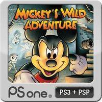 Portada oficial de Mickey's Wild Adventure PSN para PSP