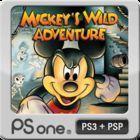 Portada oficial de de Mickey's Wild Adventure PSN para PSP