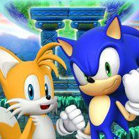 Portada oficial de Sonic the Hedgehog 4: Episode II para iPhone