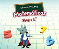 Portada oficial de Éxito en primaria: Matemáticas curso 1º DSiW para NDS