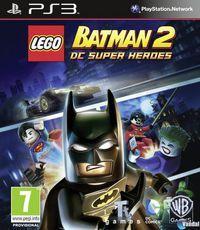 Portada oficial de LEGO Batman 2: DC Super Heroes para PS3