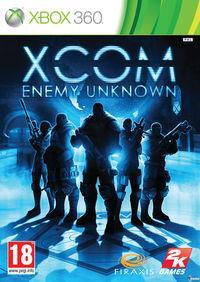Portada oficial de XCOM: Enemy Unknown para Xbox 360