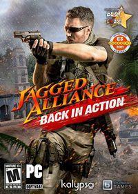 Portada oficial de Jagged Alliance: Back in Action para PC