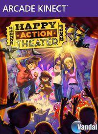 Portada oficial de Happy Action Theatre XBLA para Xbox 360
