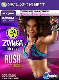 Portada oficial de Zumba Fitness Rush para Xbox 360