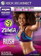 Portada oficial de de Zumba Fitness Rush para Xbox 360