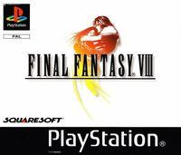 Portada oficial de Final Fantasy VIII para PS One