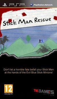 Portada oficial de Stickman Rescue Mini para PSP