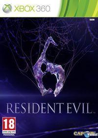 Portada oficial de Resident Evil 6 para Xbox 360