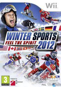 Portada oficial de Winter Sports 2012 - Feel the Spirit para Wii