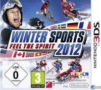 Portada oficial de Winter Sports 2012 - Feel the Spirit para Nintendo 3DS