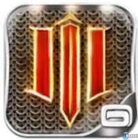 Portada oficial de Dungeon Hunter 3 para iPhone